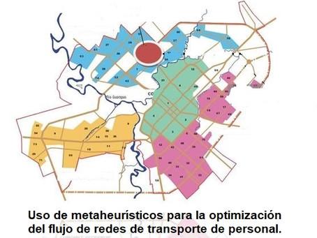 (403) Uso de metaheurísticos para la optimización del flujo de redes de transporte de personal.