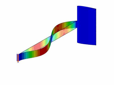 (66) Análisis de vibración de conjunto estructural base para recolector de energía