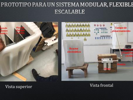 259 Sistema de tratamiento de aguas residuales domésticas por electrocoagulación