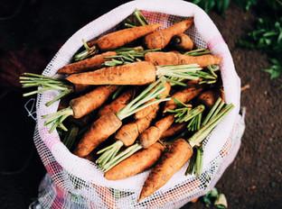 Gaufre à la carotte