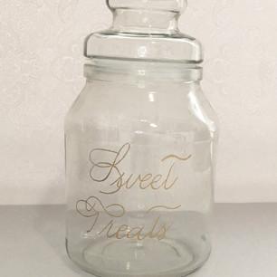 Engraved Jar