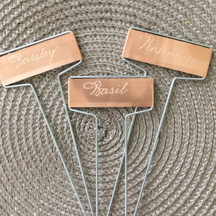 Engraved Garden Markers
