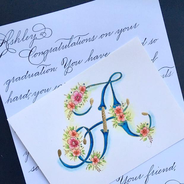 Calligraphy Graduation Gift