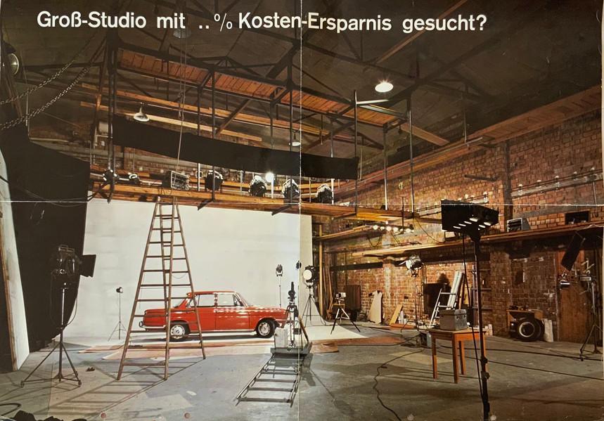 Innenansicht Studiogebäude