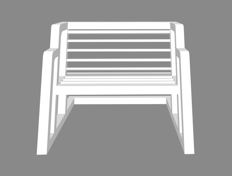 Sofa in Italics
