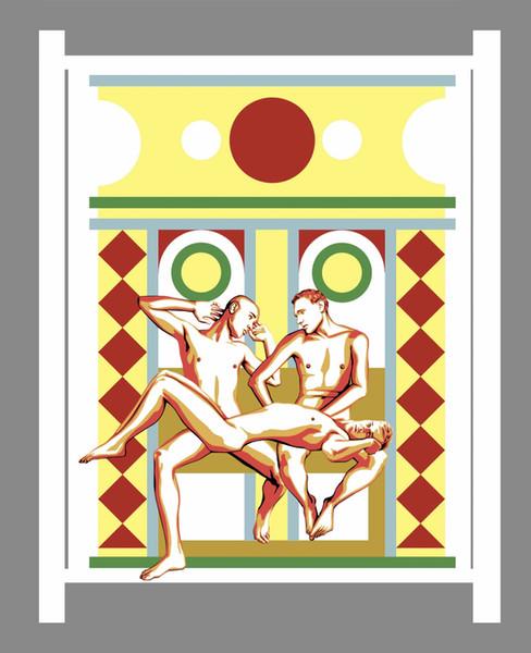 Hephaestus, Ares and Eros