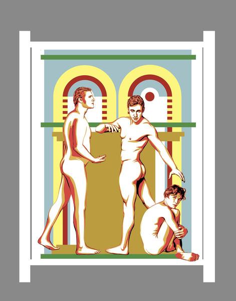 'Zeus, Prometheus and the Mortal'