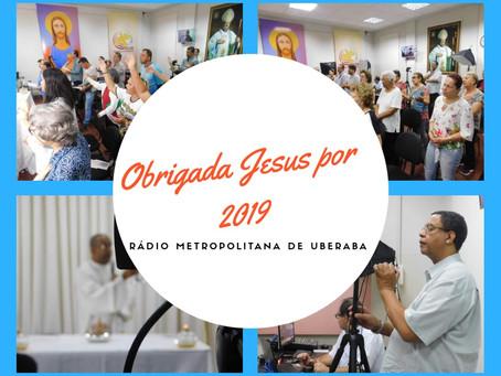 Obrigada Jesus por 2019