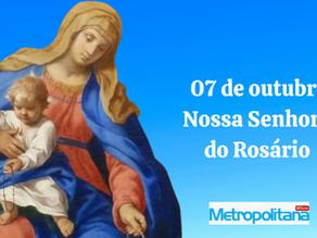 07 de outubro - Nossa Senhora do Rosário