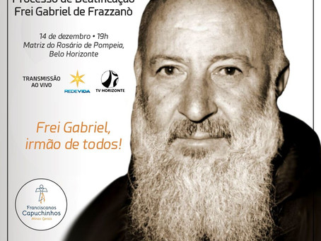 Frei Gabriel de Frazzanò, irmão de todos!