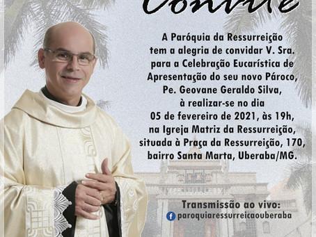A Arquidiocese de Uberaba, apresenta novos párocos que serão ordenados no mês de fevereiro