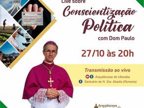 Live Conscientização Política com Dom Paulo