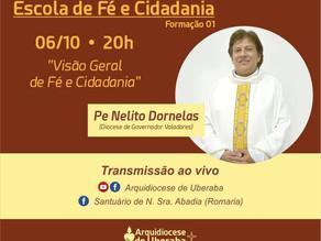A Escola de Fé e Cidadania da Arquidiocese de Uberaba inicia formações em Outubro