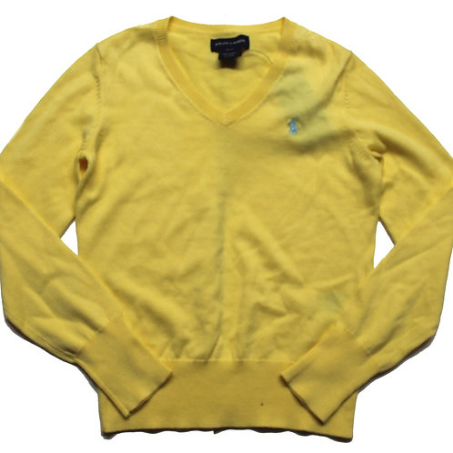 Polo Ralph Lauren Boys Children's Tank Top Sweater Jumper Yellow SP2