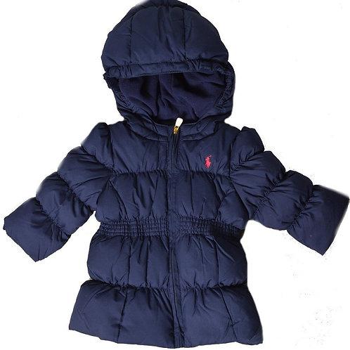 Polo Ralph Lauren Kids Girls Puff JACKET Coat Hooded