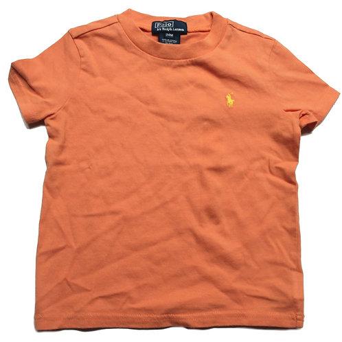 Polo Ralph Lauren Kids Orange Tee top JK58