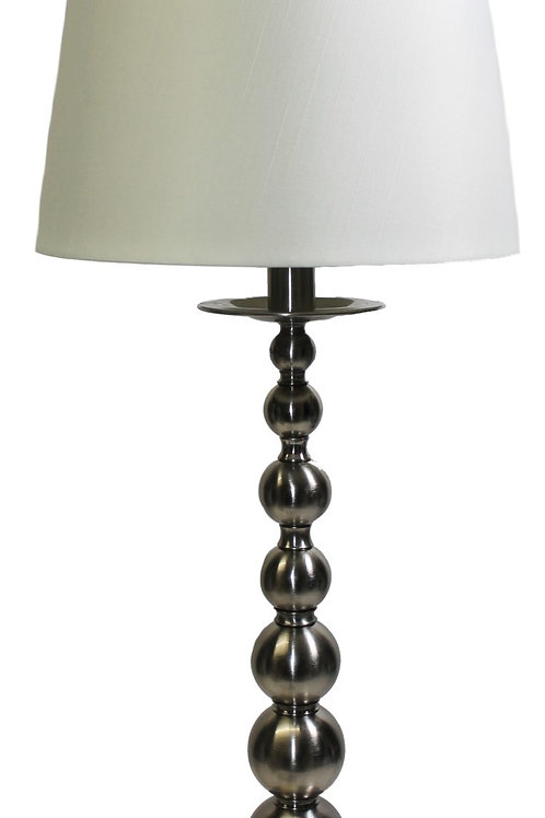 Ralph Lauren Home Collection Tall Table Lamp Polished Silver AM45