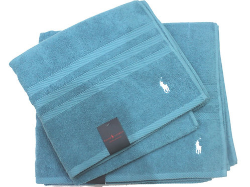 Polo Ralph Lauren Bath Sheet Towel Set Turquoise TV22