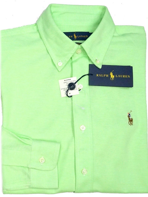 Polo Ralph Lauren Kids Boys Childrens Oxford Shirt Long Sleeve IS55