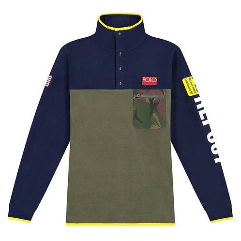 Polo Ralph Lauren Mens Paddling Fleece Jacket Jumper KW39