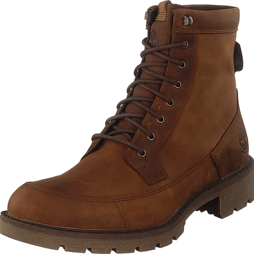 Timberland Mens Elmhurst 6 Inch Md Brown Full Grain leather Boots Winter AM27