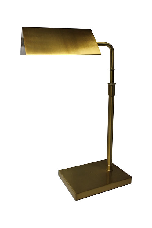 RALPH LAUREN AGATHA O' BANKERS Extendable DESK LAMPGold KW7