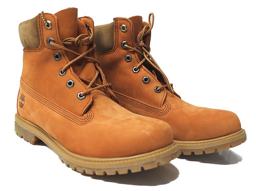 Timberland Womens Premium 6inch Boots Leather Rust IS13