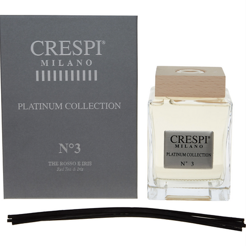 Crespi Milano No. 3 Red Tea and Iris Reed Diffuser Boxed Scent Home KW20
