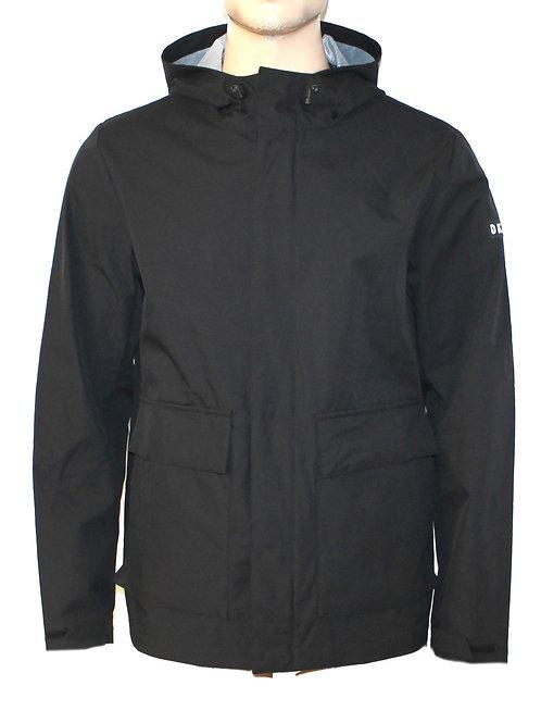 DKNY Mens Hooded Wind Breaker Jacket Logo Water resistant MU64