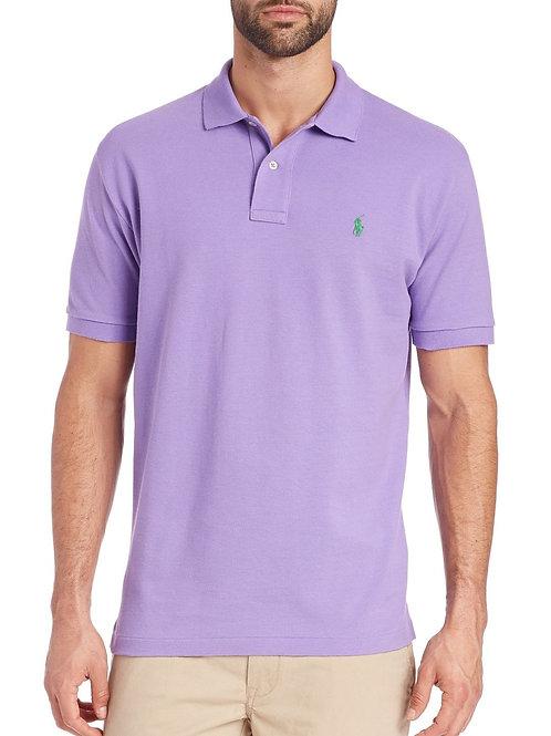 Men's Custom Fit Short Sleeved Polo Shirt Top Tee T-shirt