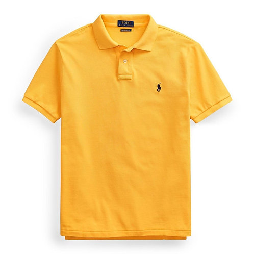 Polo Ralph Lauren Short Sleeve Classic Fit Polo College Gold mens KW50