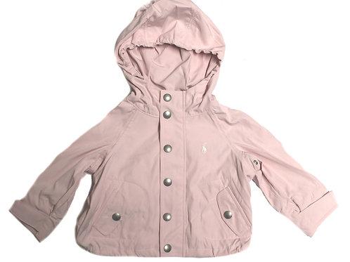 Polo Ralph Lauren Girls Babies Pink Anorak Hooded jacket MU19
