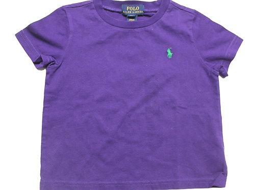 Polo Ralph Lauren Kids Purple Tee top JK63