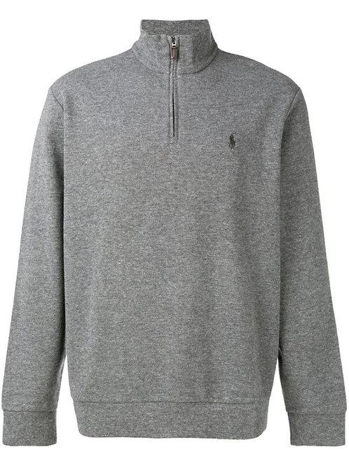 Polo Ralph Lauren Mens Long Sleeve Sweat Shirt Jumper Sweater Grey Am18