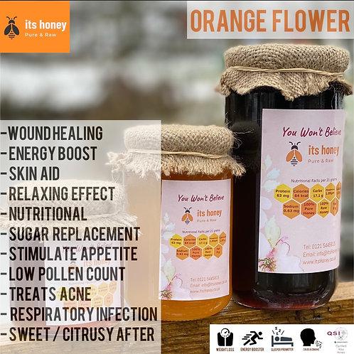 Honey Orange Flower