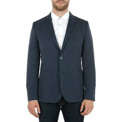 TED BAKER MENS Blue Linen Tencel Blazer MU88