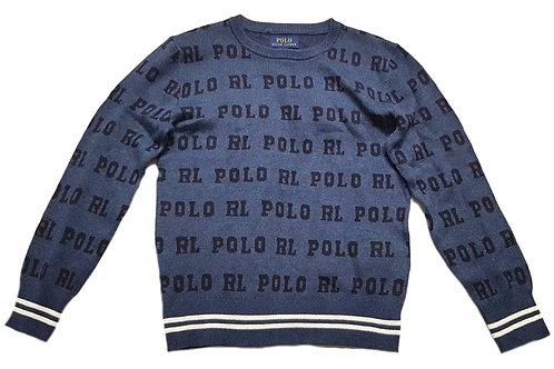 Polo Ralph Lauren Kids Childrens Iconic Sweater Jumper Logo MU87