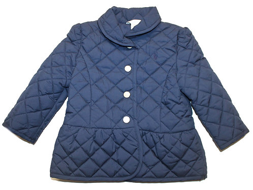 Polo Ralph Lauren Kids Girls Babies Quilted Shawl Collar Jacket Coat F40