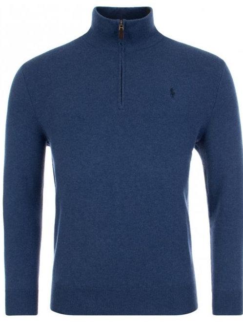 Polo Ralph Lauren Merino Wool Half-Zip Jumper Sweater KW40
