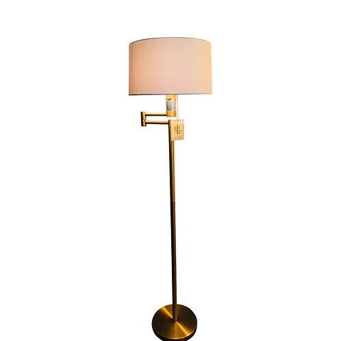 RALPH LAUREN Swing SWIVEL Arm Floor Lamp Gold Vintage Inspired KW2
