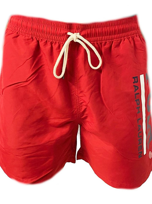 Polo Ralph Lauren Mens Shorts BIG Pony Front Red AM39