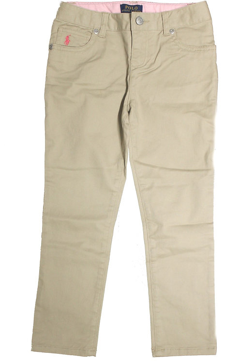 Polo Ralph Lauren Kids Girls Chino Trousers