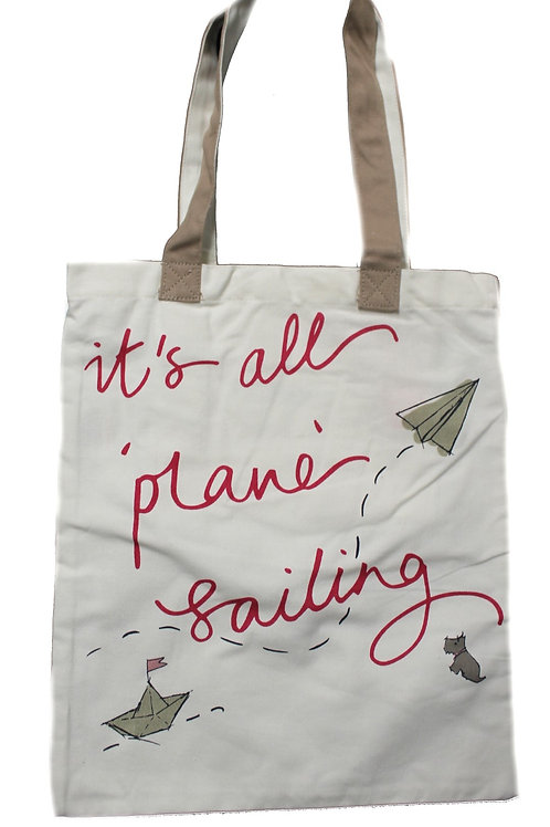 Radley Large Tote Canvas It's all Plain Sailing IS16