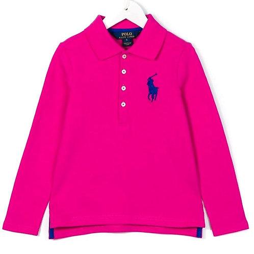Polo Ralph Lauren Girls Long Sleeve T-shirt Pink