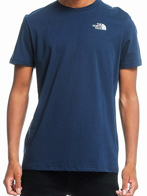 The North Face Simple Dome T-Shirt Cosmic Blue Mens Collection