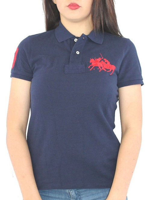 women's Navy mothers polo