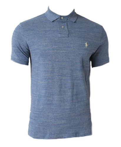fbc71672 Polo Ralph Lauren Mens Short Sleeve Blue Top Tee T-shirt Mesh IS91