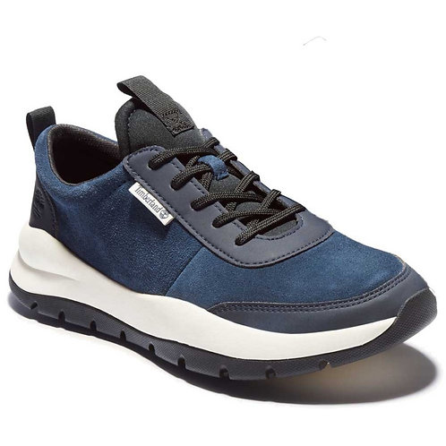 Timberland Mens BOROUGHS PROJECT LEATHER SNEAKER MEN NAVY TRAINERS AM26