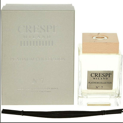 CRESPI MILANO N7 Cedarwood & Pink Pepper Luxurious Platinum Diffuser Scent KW19