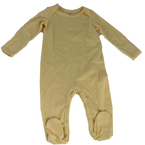 Polo Ralph Lauren kids yellow romper suit baby grow